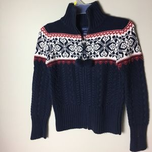 Ralph Lauren Cotton Cable-Knit Cardigan Sweater